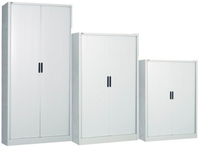 Riva Exspress Steel Tambour Cabinets