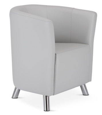 Rory Tub Chair In Grey