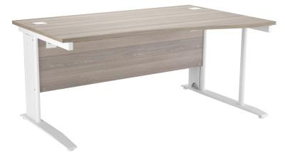 Riva Plus Right Hand Wave Desk