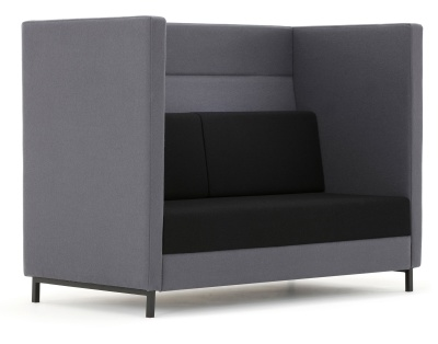 Elect Two Seater Sofa Front Angle Shot