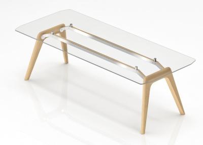 Gravity Glass Executive Desk