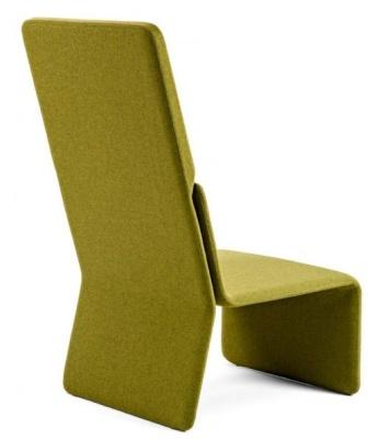 Shey Modular High Back Chair In Green
