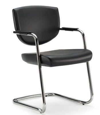 Key Low Back Conference Chair Front Angle
