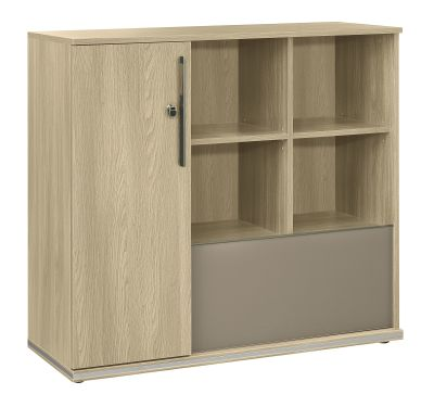 Vermont Compact Storage Unit In Oak