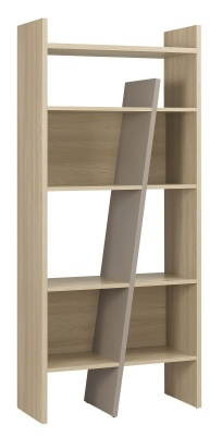 Vermont Designer Bookcase In Oak