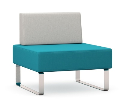Intro Single Seater Bench And Back