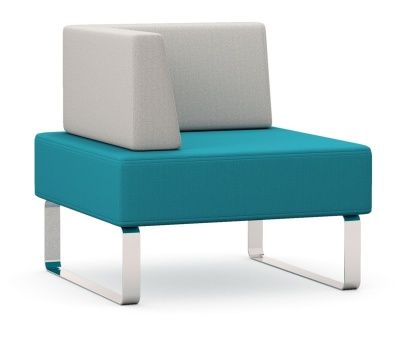 Intro Single Seater Bench And Right Hand Arm