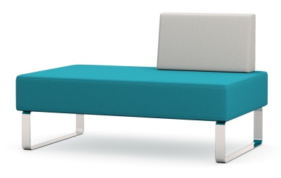 Intro Two Seater Bench With Left Habnd Back
