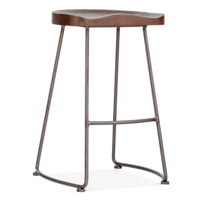 Bombay High Stool Front Angle