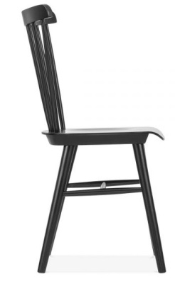 Eton Wooden Chair Side Angle Shot