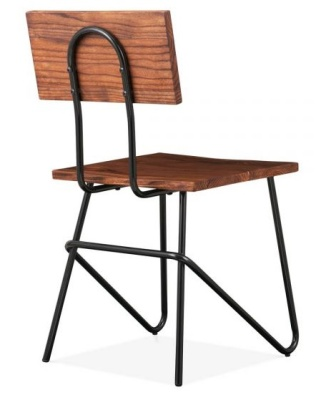 Urban Hairpin Chair Rear Angle