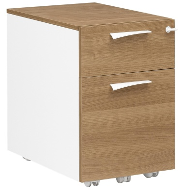 Xenon Two Drawer Mobile Pedestal