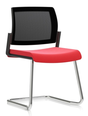 KND Mesh Cantilever Meeting Chair