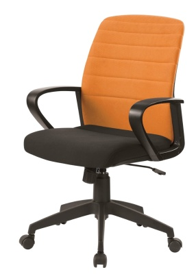 Tango Folding Operator Chair Orange Back