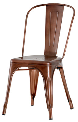 Xavier Chair Antque Copper Finish