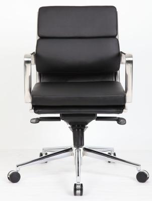 Topaz Eames Style Medium Back Executive Chair Facing Shot