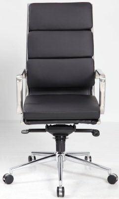 Topaz High Back Eames Style Executive Chair Facing Shot