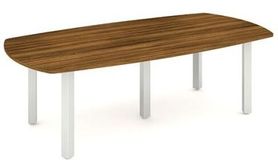 Revolution Boardroom Table In Walnut