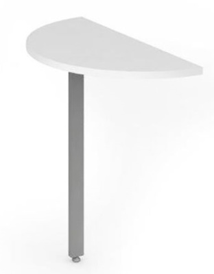 Revoloution Desk End Extension With A White Top
