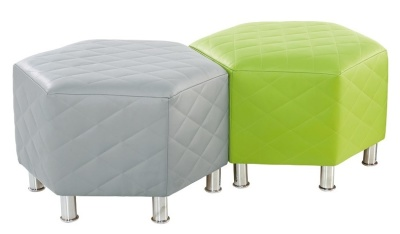 Hexa Quilted Stools