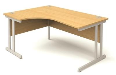 Abacus Plus Left Hand Corner Desk