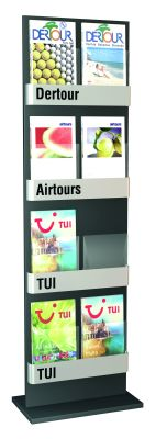 Abacus Display Stand 8 X A4