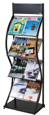 Wave Wide Leaflet Display