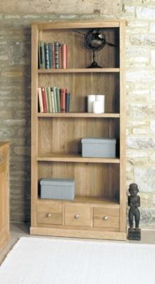 Warwick Solid Oak Bookcase 1