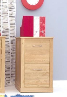 Warwick Solid Oak Filing Cabinet 2