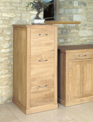 Warwick Three Drawer Filing Cabinet