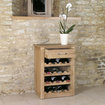Warwick Lamp And Wine Rack Table