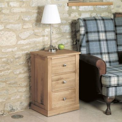 Warwick Three Drawer Lamp Table 3