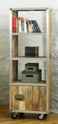 Roadie Bookcase With Doors