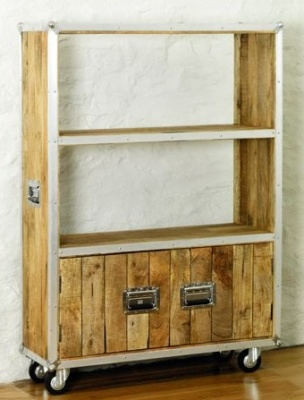 Roadie Large Bookcase With Doors 1