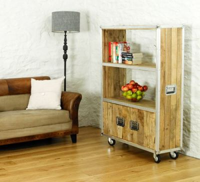 Roadie Large Bookcase With Doors 4