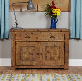 Hatfield Sawn Oak Sideboard 1