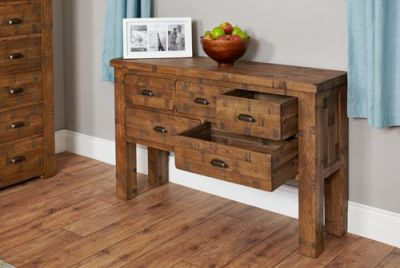 Hatfield Sawn Oak Table 3