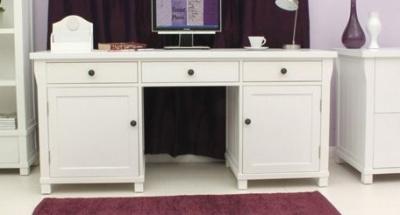 New England Double Pedestal Desk 1