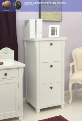 New England 3 Drawer Cabinet 3
