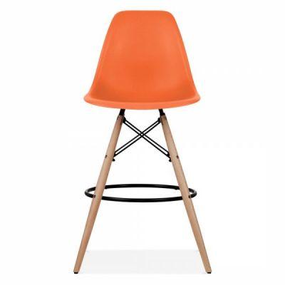 Dsw Stool Orange Seat 2