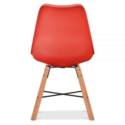 Crosstwon Chair With A Red Seat Rear Shot