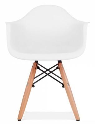 Eames Inspired DAW Chjair White Seat Facing