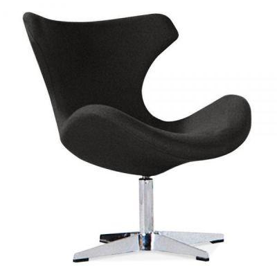 Neutron Lounge Chair In Black