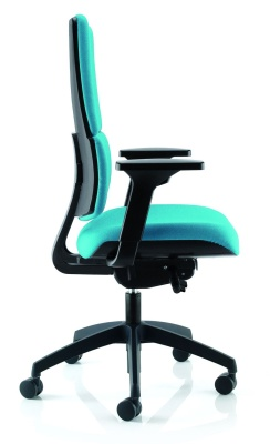 Infinity Ergonomic Chair With Height Adjustable Arms Sid View