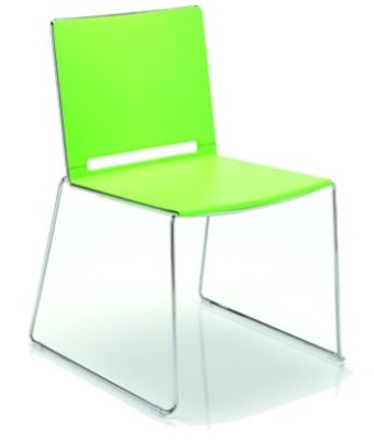 Fantasy Poly Chair Grass Green