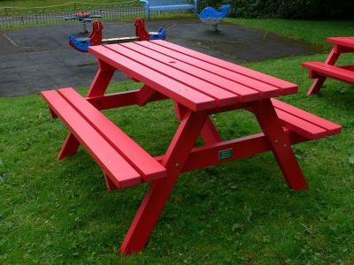 Westhpoint Coloured Picnic Table 1