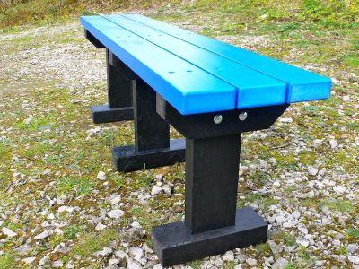 Westpoint T Benchj Blue Slats