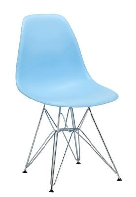 Eames DSR Chair Light Blue Shell V2