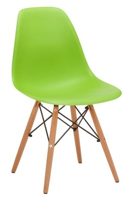 Eames Inspired DSW Chair In Green V4