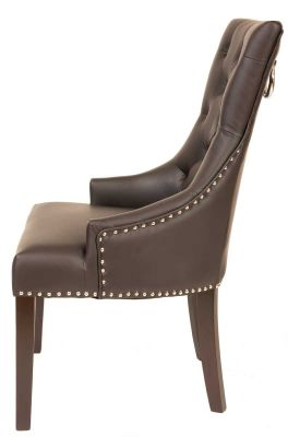 Churchill Leather Dining Chair 4